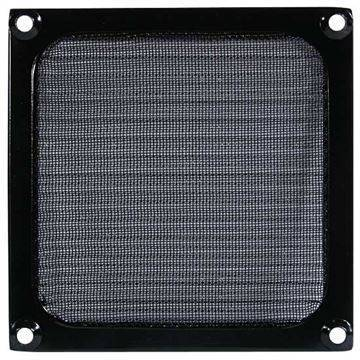 Fan filter/grill - 120mm - Black