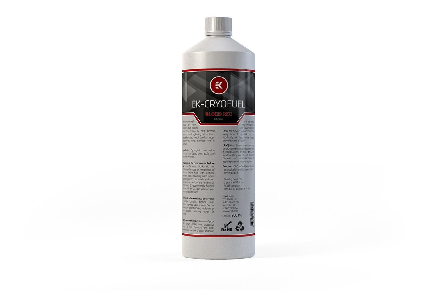 EK - Ekoolant Cryofuel - Blood RED - 900ml