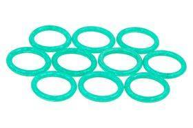 Phobya O-Ring - 11x2mm (G1/4) - UV Green - 10 pcs