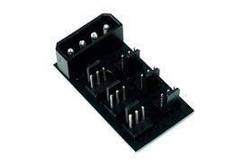 Phobya 4-pin Molex to 6 pcs 3-pin Fan Splitter PCB